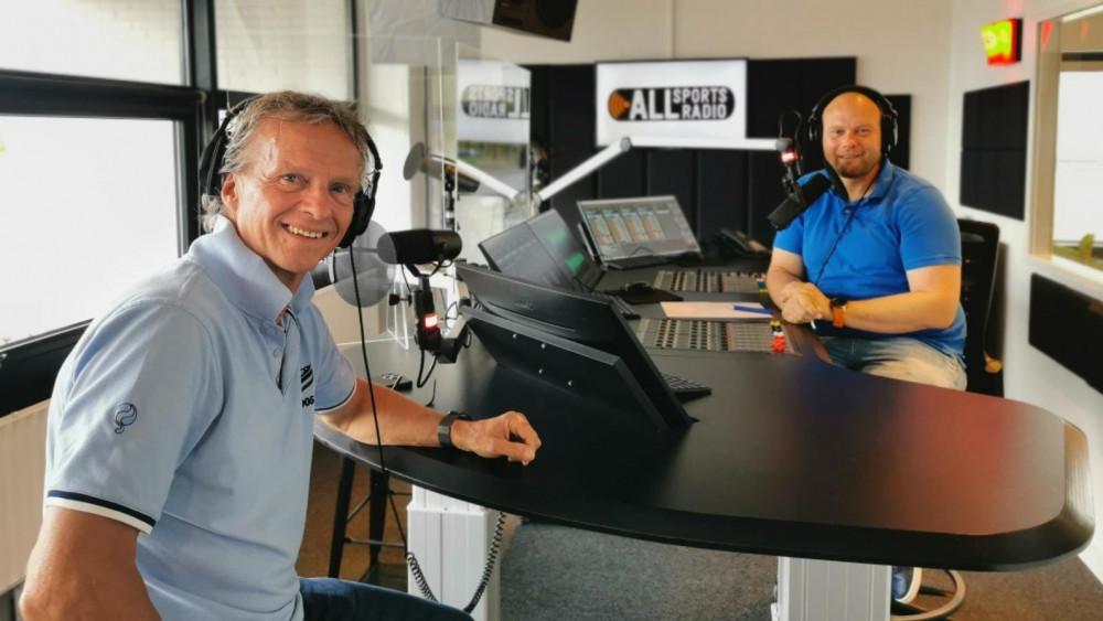 Jan Lammers in studio